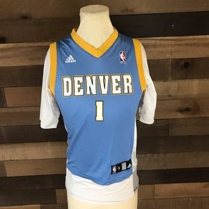 Chauncey Billups Denver nuggets youth jersey small